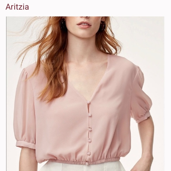 Wilfred pink blouse never worn